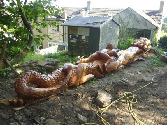 'Chines Dragon' Macrocarpa. Gloucestershire