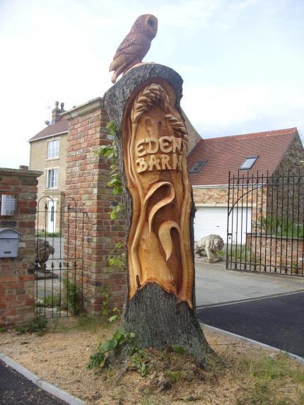'Eden Barn' Lime, Gloucestershire.